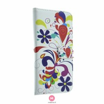 Samsung Galaxy S7 Book Case Flower Rain