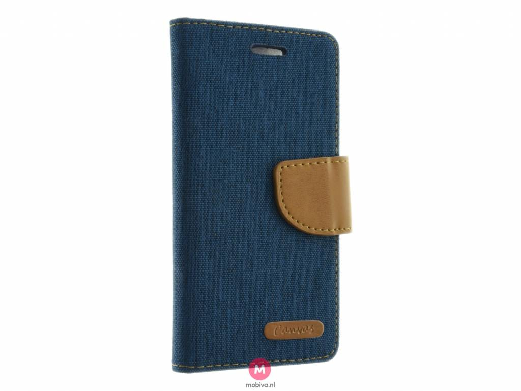 Mobicase iPhone 7 Book Case Kabura Twin 2-in-1 Donker Blauw