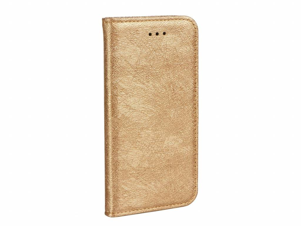 Apple iPhone 5/5s/SE Golden Flex Book Case