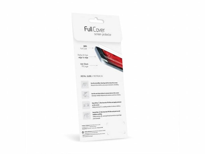 Forcell Forcell Full Cover Samsung Galaxy S7 Edge Screenprotector