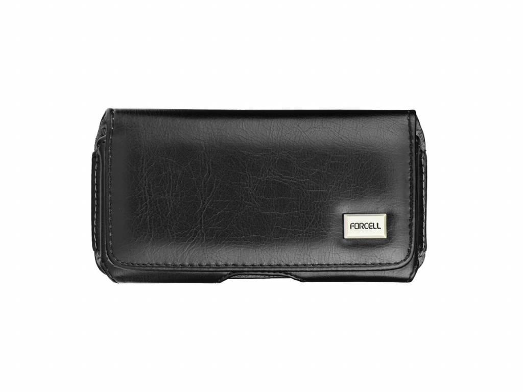 Forcell Galaxy Note 3/4 Zijtasje Zwart