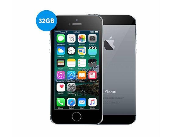 Apple iPhone 5S 32GB Space Grey Refurbished | Als Nieuw