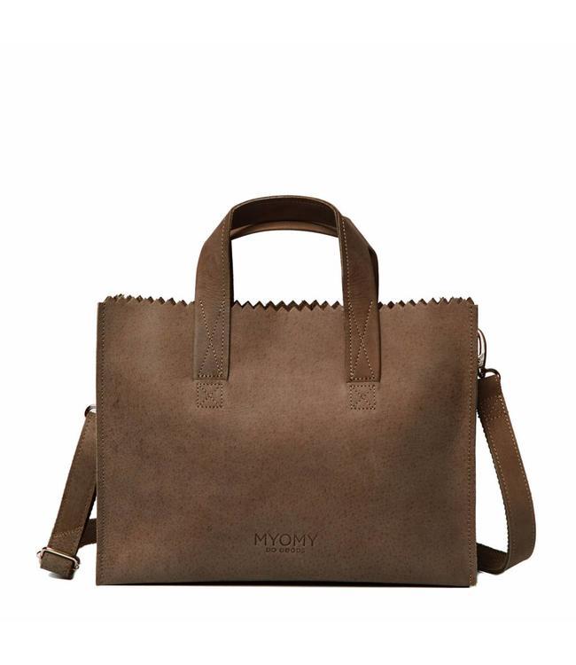 MYOMY My Paperbag Handbag cross-body hunter original