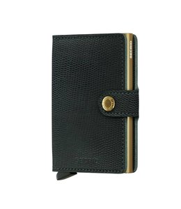 Secrid Miniwallet Rango green gold