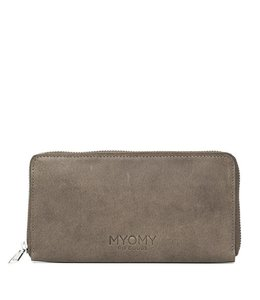 MYOMY My Paperbag Wallet hunter taupe