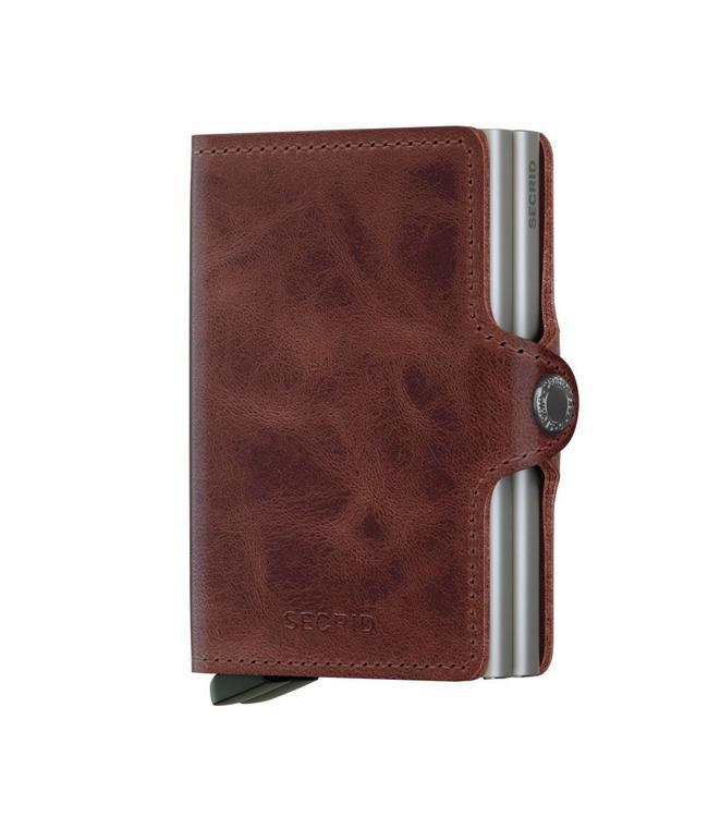 Secrid Twinwallet Vintage Brown-pasjeshouder RFID beschermd