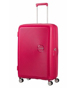 American Tourister Soundbox spinner 77 TSA exp lightning pink