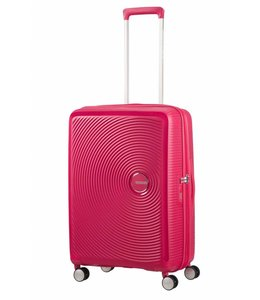 American Tourister Soundbox spinner 67 TSA exp lightning pink