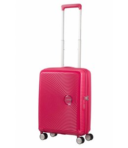 American Tourister Soundbox spinner 55 TSA exp lightning pink
