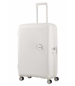 American Tourister Soundbox spinner 77 TSA exp pure white