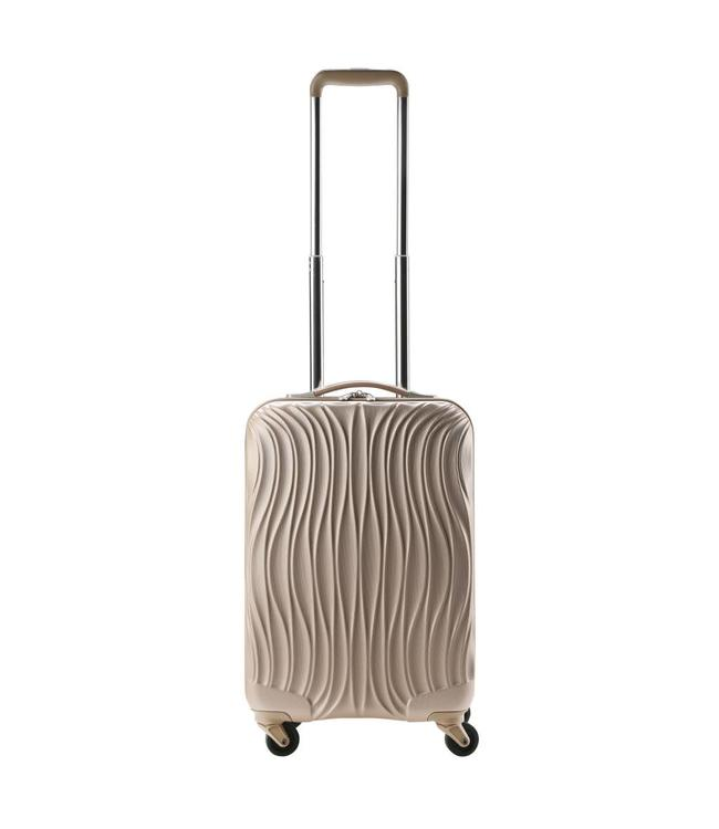 CarryOn Wave 54cm champagne-handbagage koffer met 4 wielen