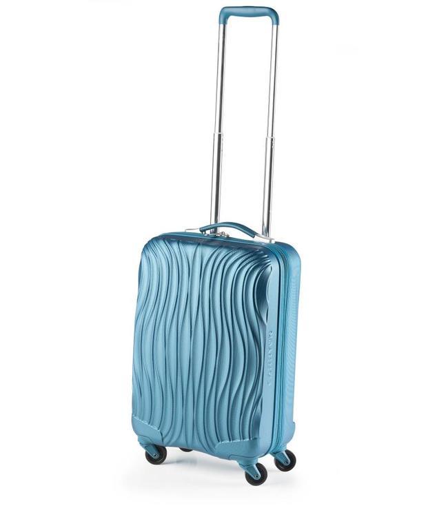 CarryOn Wave 54cm Turquoise-handbagage koffer met 4 wielen