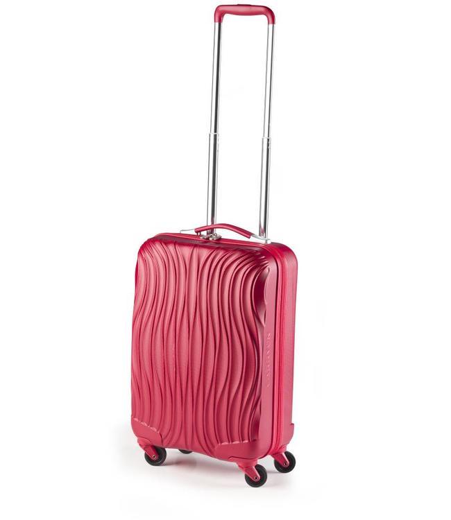 CarryOn Wave 54cm red-handbagage koffer met 4 wielen