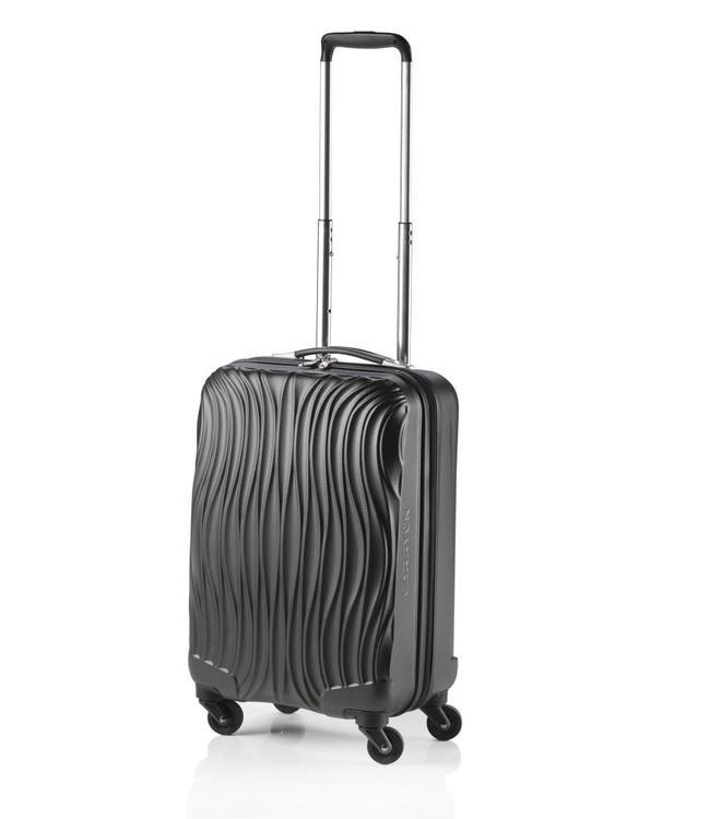 CarryOn Wave 54cm antraciet-handbagage koffer met 4 wielen