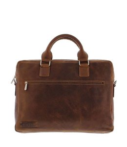 "Plevier Business 15.6"" laptoptas Cognac"