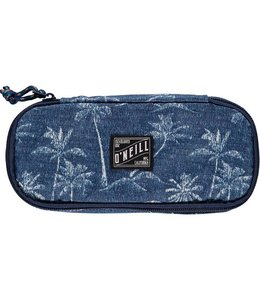O'Neill Box pencil case blue aop