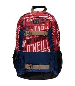 "O'Neill Boarder 15.6"" rugzak red aop w/white"
