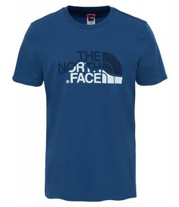 The North Face Mountain Line Tee t-shirt shady blue