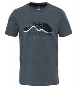 The North Face Mountain Line Tee t-shirt tnf medium grey heather