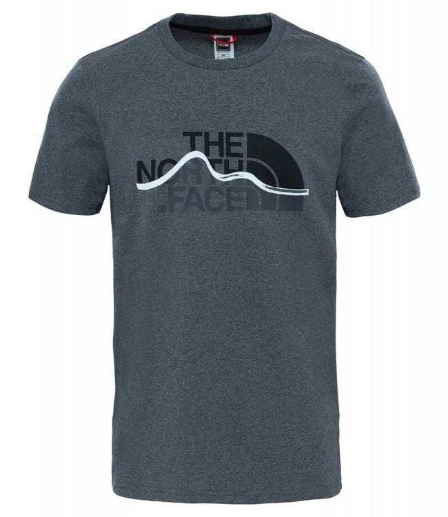 The North Face Mountain Line Tee t-shirt tnf medium grey heather