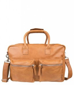 "Cowboysbag The College Bag 15.6"" tobacco"