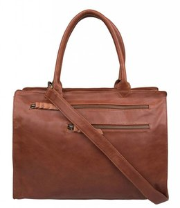 Cowboysbag Working Bag Norwich cognac