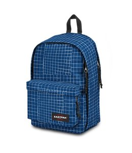 Eastpak Back to Work Laptoprugtas blue dance-met bloemen