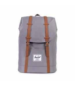 Herschel Retreat grey/tan synthetic leather