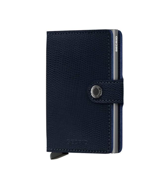 Secrid Miniwallet Rango blue titanium-pasjeshouder RFID beschermd