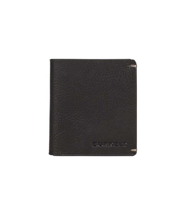 Burkely Antique Avery 7cc small wallet zwart