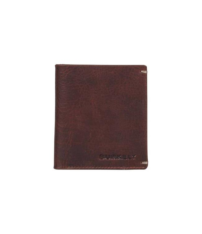 Burkely Antique Avery 7cc small wallet bruin