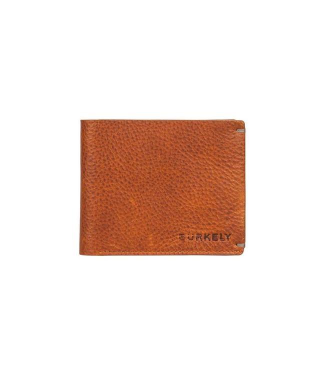 Burkely Antique Avery 12cc creditcard billfold cognac