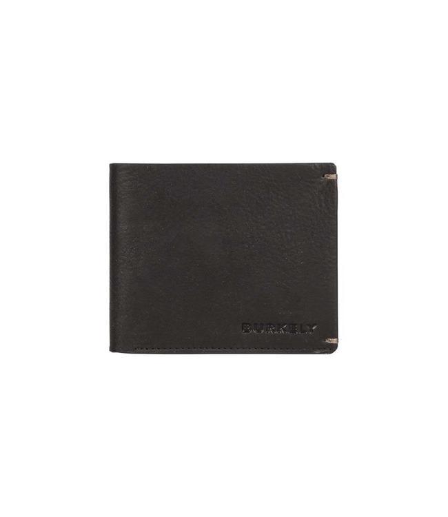 Burkely Antique Avery 12cc creditcard billfold zwart