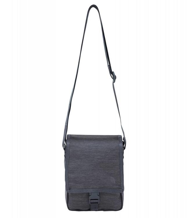 The North Face Bardu Bag Grey-Kleine schoudertas voor op reis