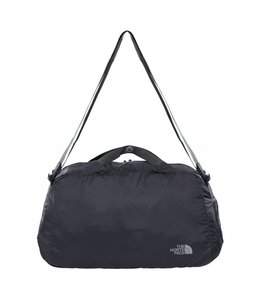 The North Face Flyweight duffel asphalt grey