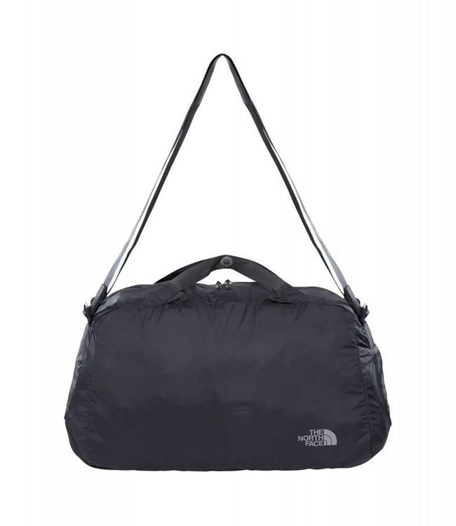 The North Face Flyweight duffel asphalt grey-opvouwbare reistas
