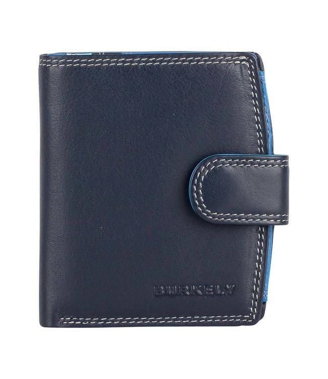 Burkely Multicolor wallet loop Blauw
