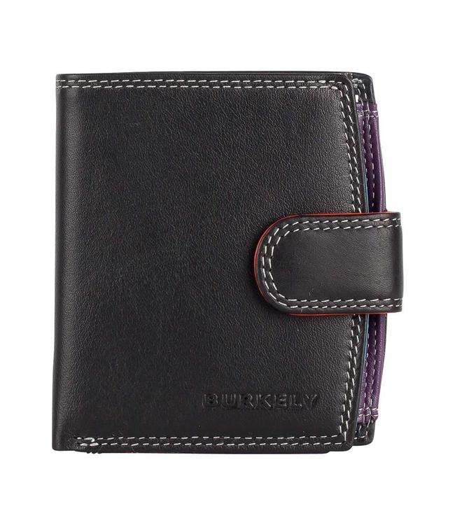 Burkely Multicolor wallet loop Zwart