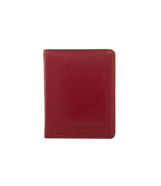 Burkely Multicolor cc holder flap red