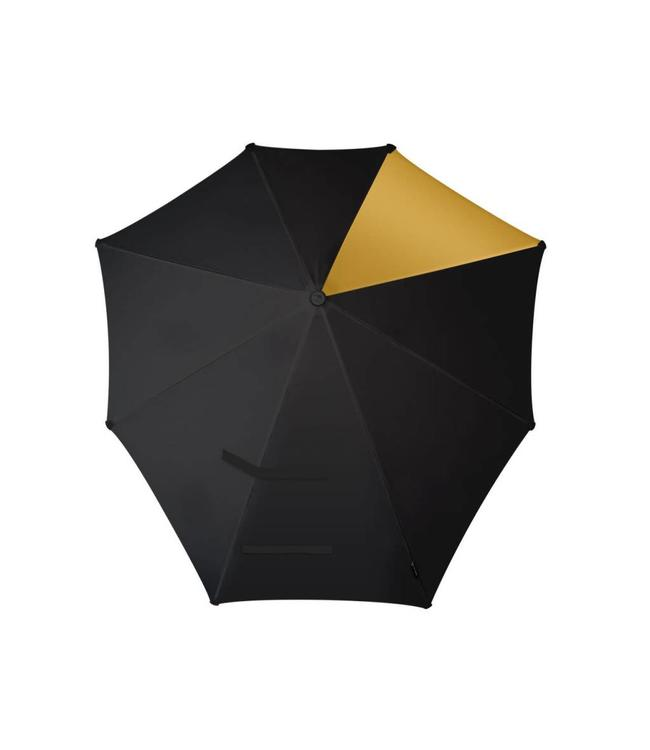 Senz Automatic gold reflections-opvouwbare storm paraplu