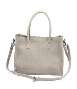 Zebra Trends Lisa Natural bag kartel light grey