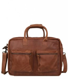 "Cowboysbag The College Bag 15.6"" cognac"