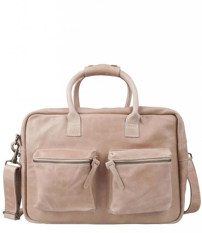 "Cowboysbag The College Bag 15.6"" sand-laptoptas"