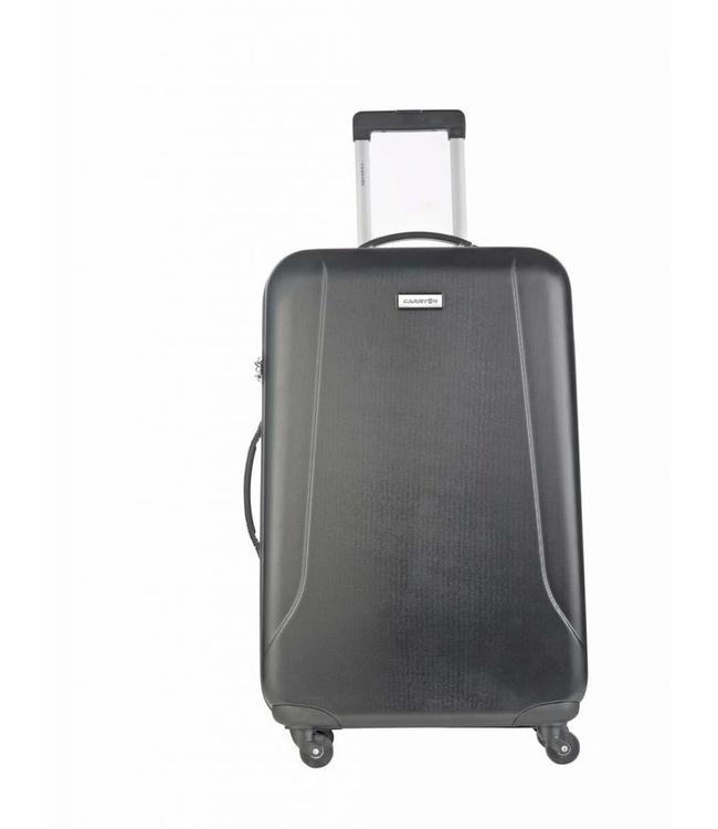 CarryOn Skyhopper 76cm 4-wiel trolley zwart-vliegtuig reiskoffer