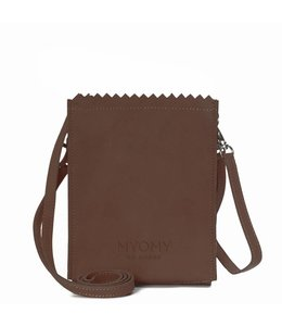 MYOMY My Paperbag Baggy Dark Chocolate