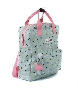 Zebra Trends Rugzak L girls sprinkles