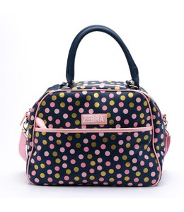 Zebra Trends Kidsbag luxe blue dots