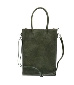 Zebra Trends Natural bag Rosa XL army green