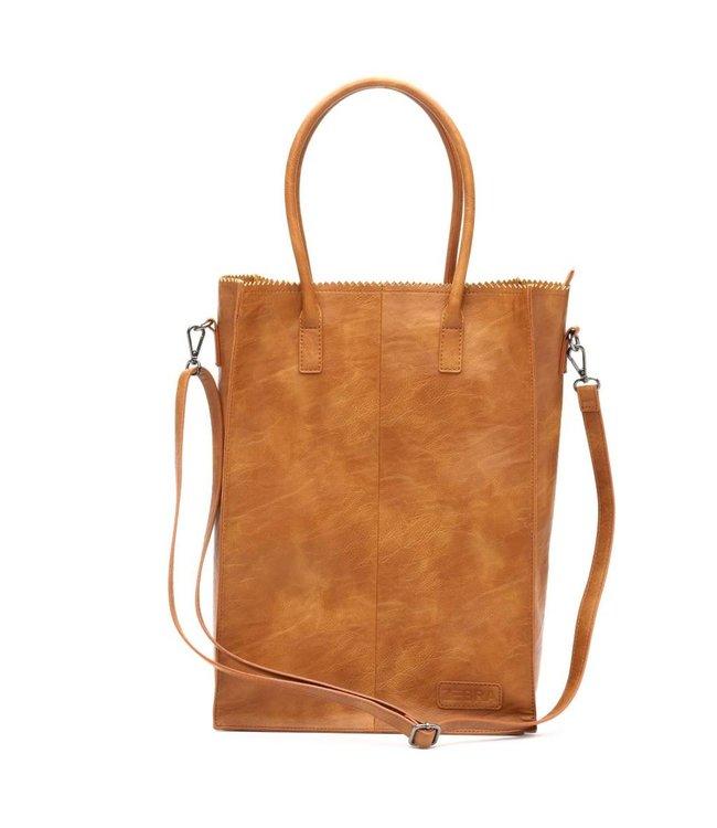 Zebra Trends Natural bag Rosa XL camel-ruime shopper