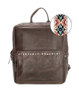 Micmacbags New Navajo rugtas 16837 grey